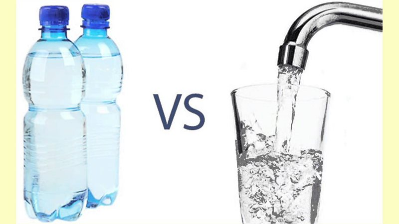 Myth: Drinking bottled water is better than tap water because it is safer.