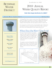 2010 Water Quality Report