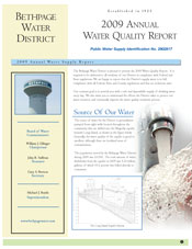 2009 Water Quality Report