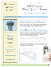 2012 Water Quality Report